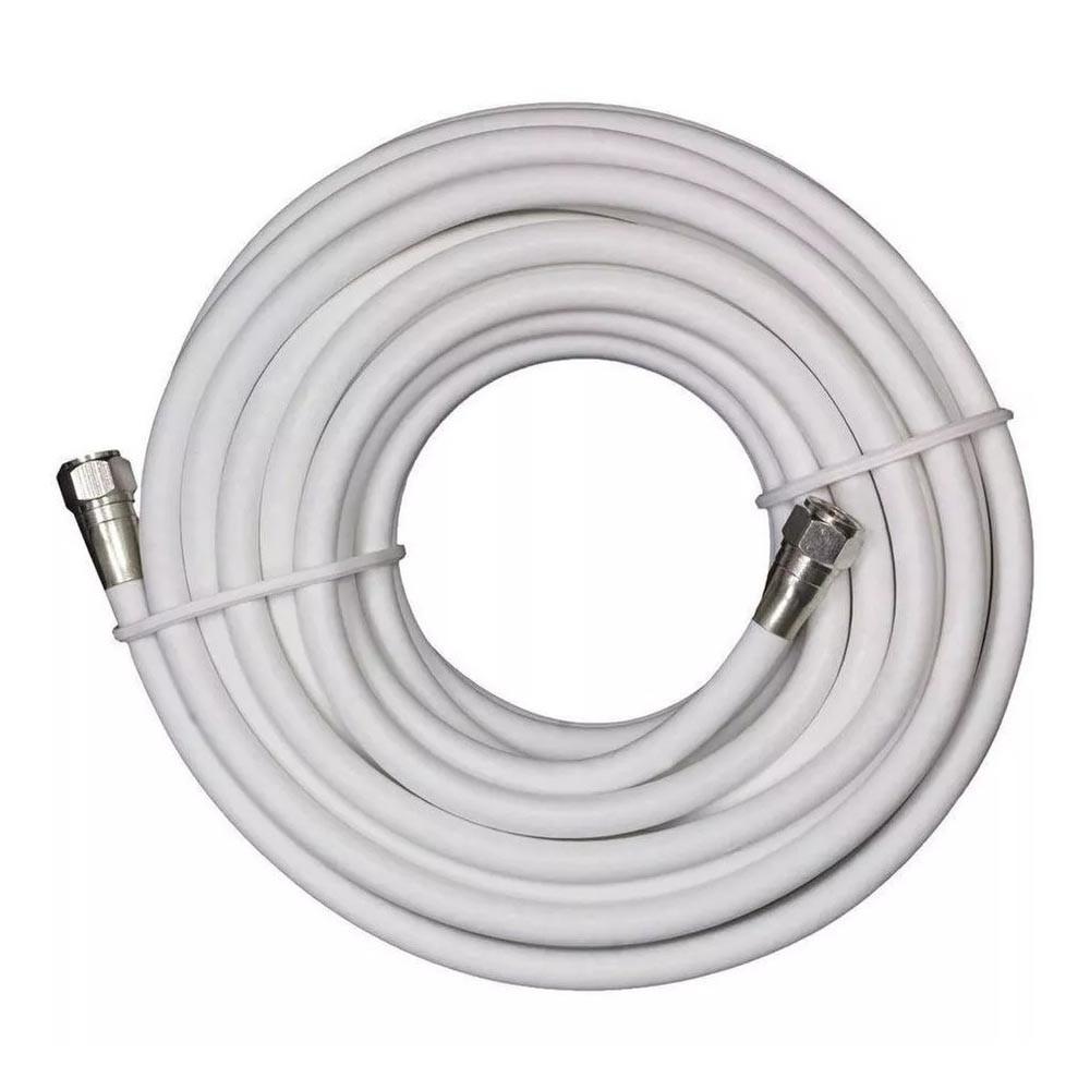 Cable coaxial armado rg6 7.6mt