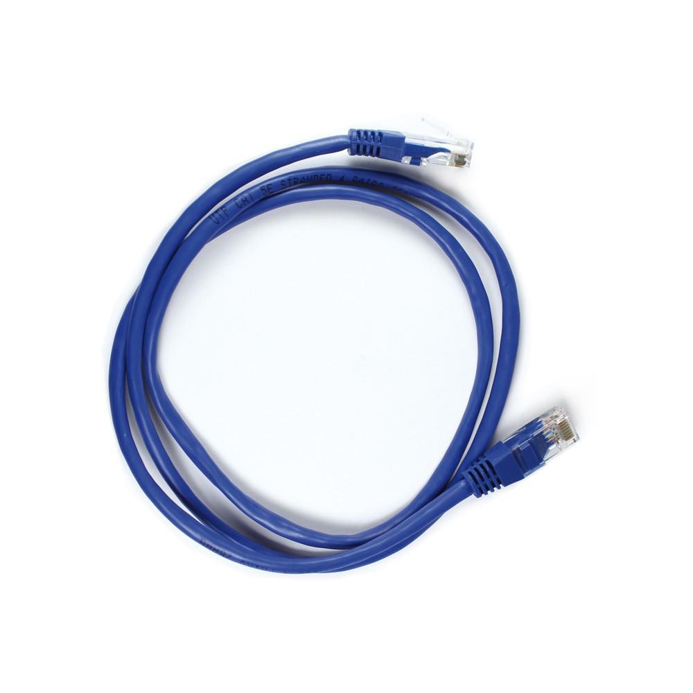 Cable de red categoría 5, color azul, 1 metro jl46053