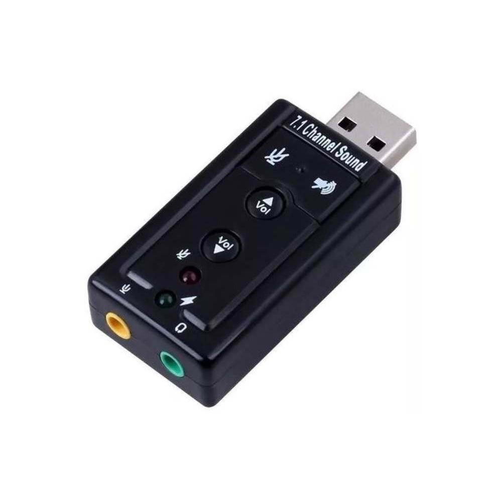 Adaptador de audio usb