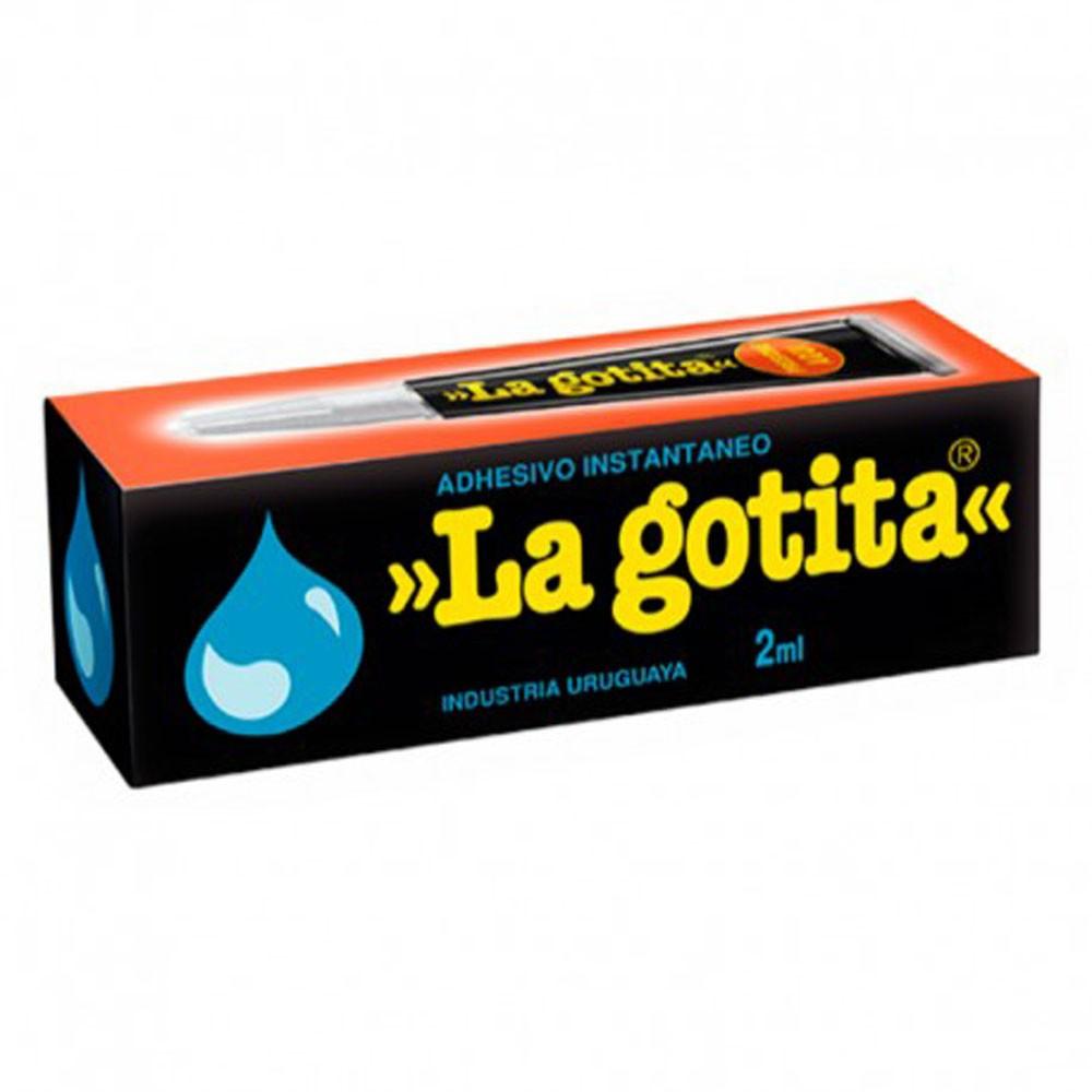 Adhesivo la gotita 2ml. Envase 2 ml