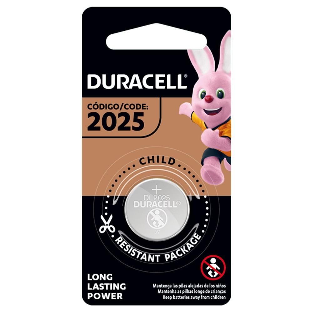 Pila de botón de litio 2025 de 3v