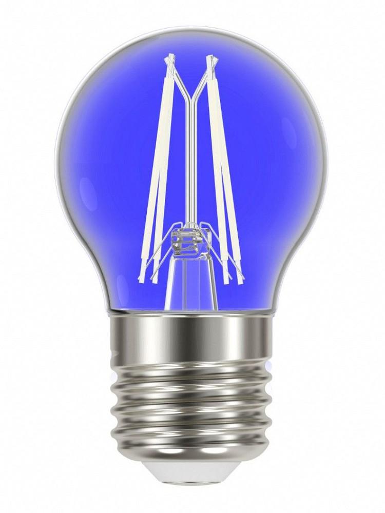 Lâmpada led filamento color g45 4w e27 azul