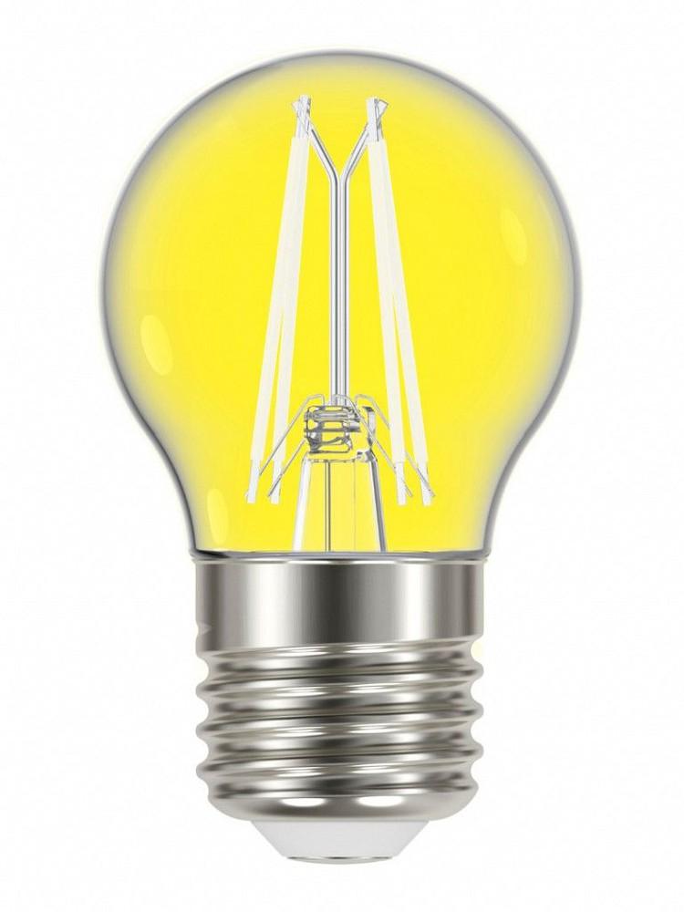 Lâmpada led filamento color g45 4w e27 amarela