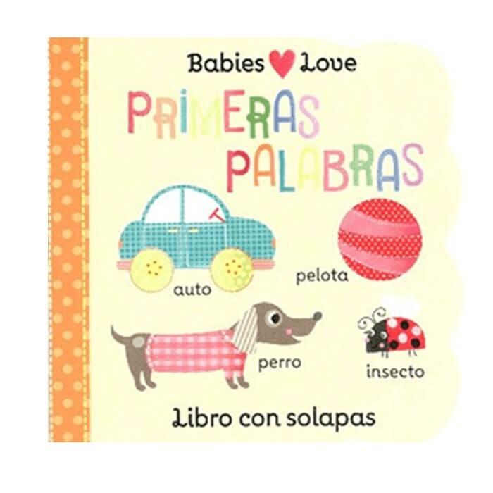 Babies love - primeras palabras 20x15x3 cm