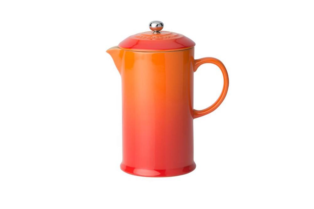 Cafetera 800ml con prensa volcánico 25,5x14x18cm