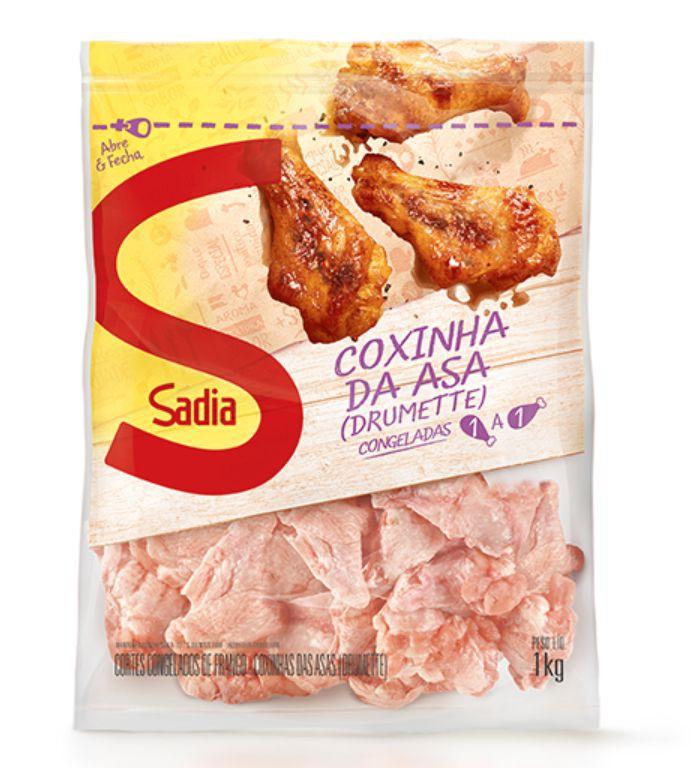 Coxinha da asa de frango congelada