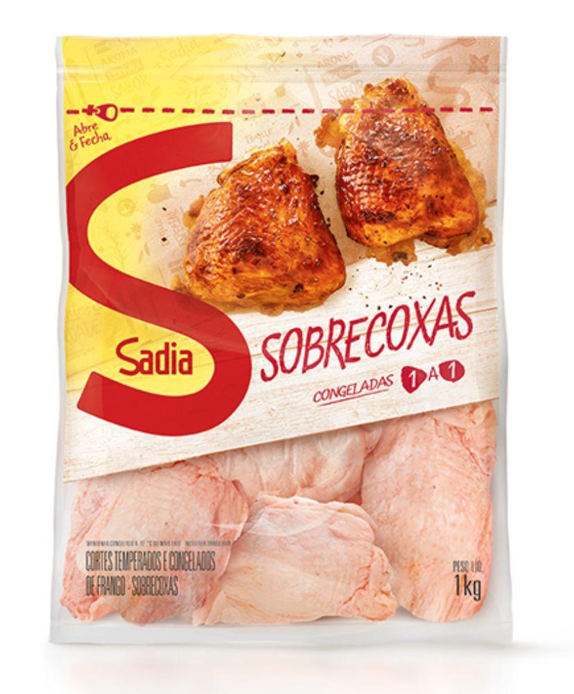Sobrecoxa de frango congelada