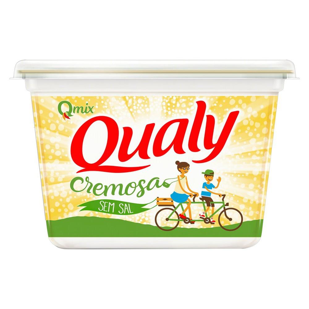 Margarina cremosa sem sal qmix