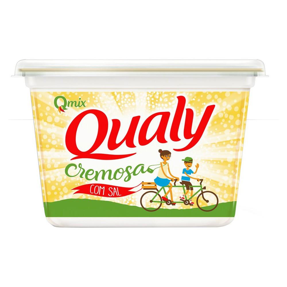 Margarina cremosa com sal qmix