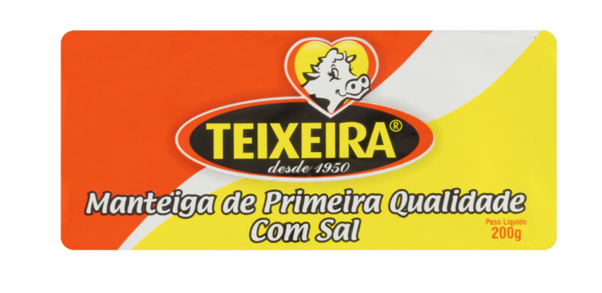 Manteiga tablete com sal