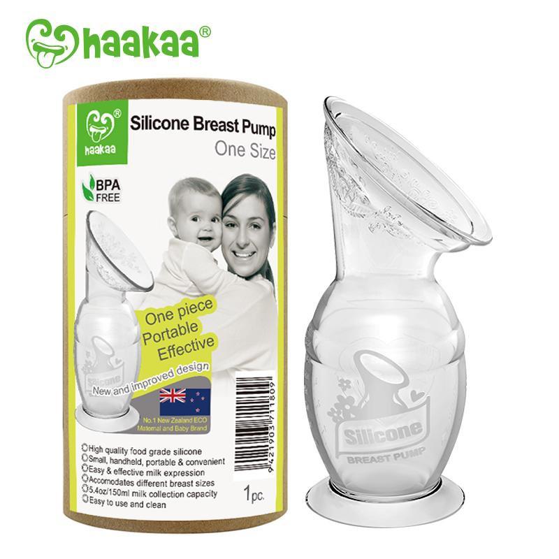 Recolector de silicona haakaa leche materna 150ml