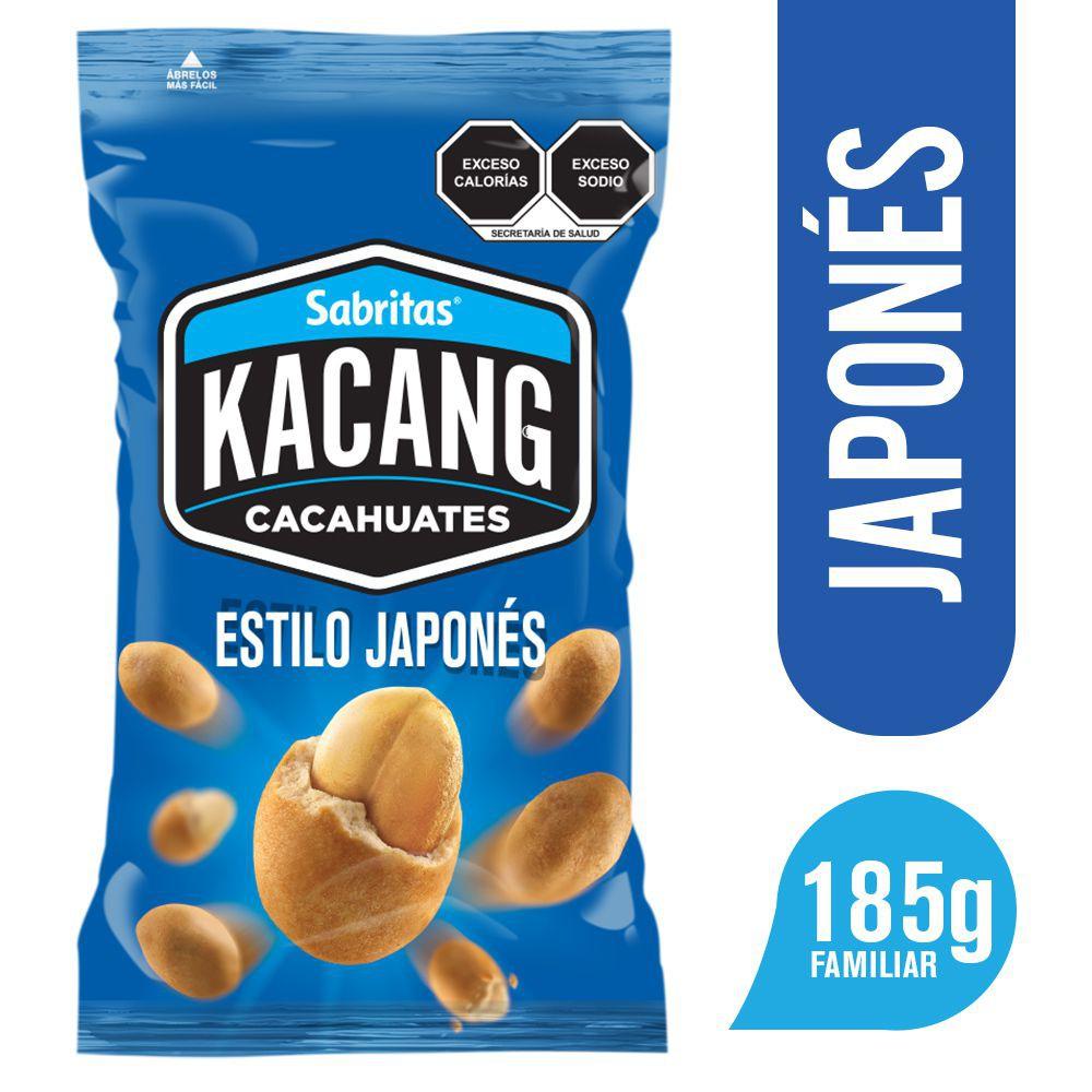 Kacang cacahuates estilo japonés