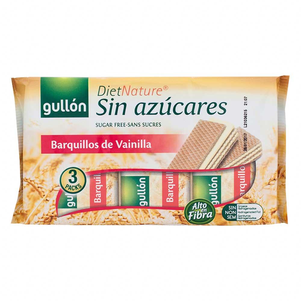 Galleta oblea sin azúcar sabor vainilla
