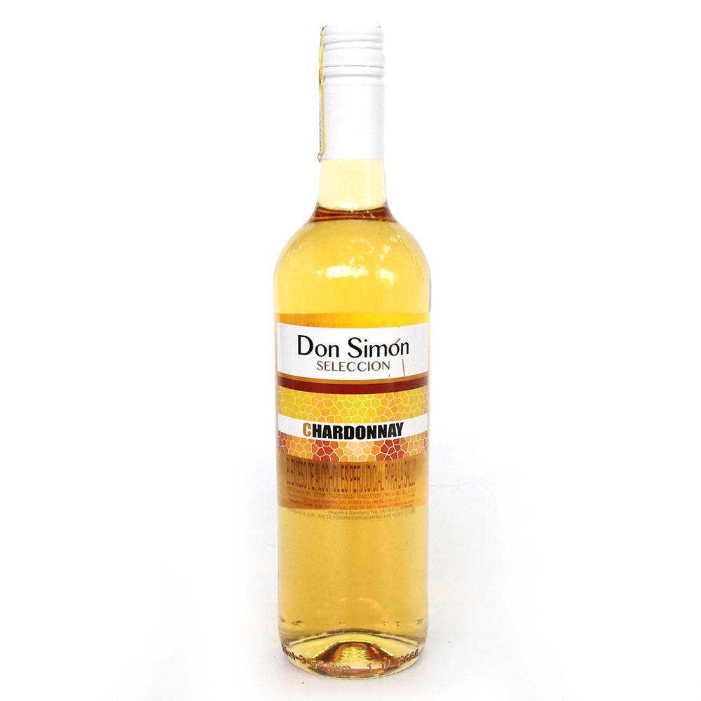 Vino blanco botell chardon