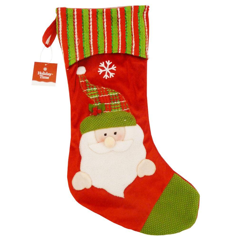Adornos navidenos en supermercado lider
