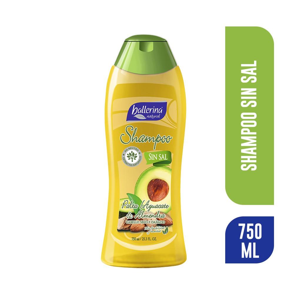 Shampoo palta y almendra