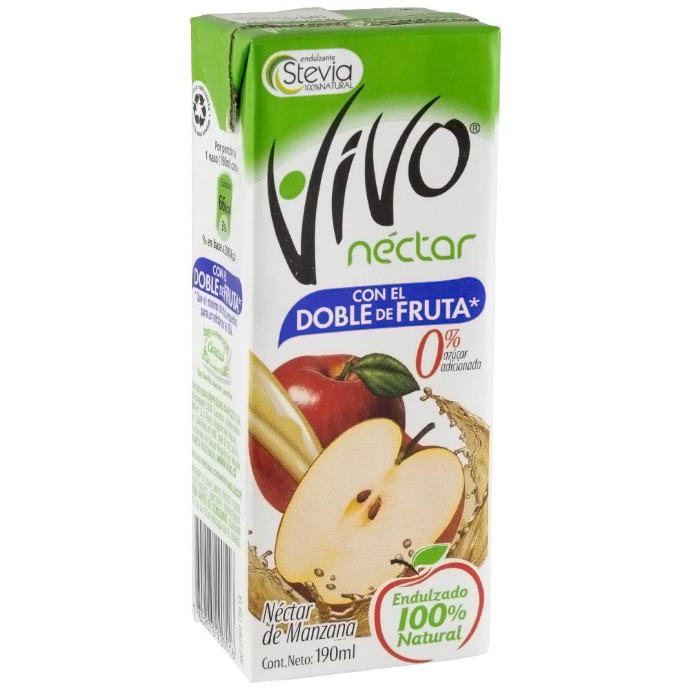 Néctar sin azúcar sabor manzana
