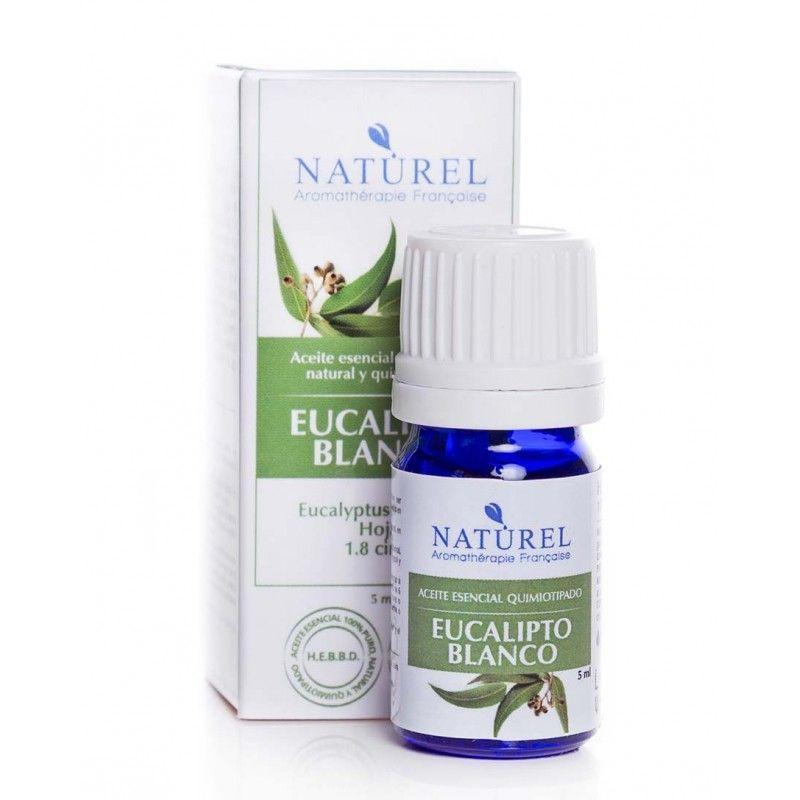 Aceite de aromaterapia eucalipto blanco botella de 5ml