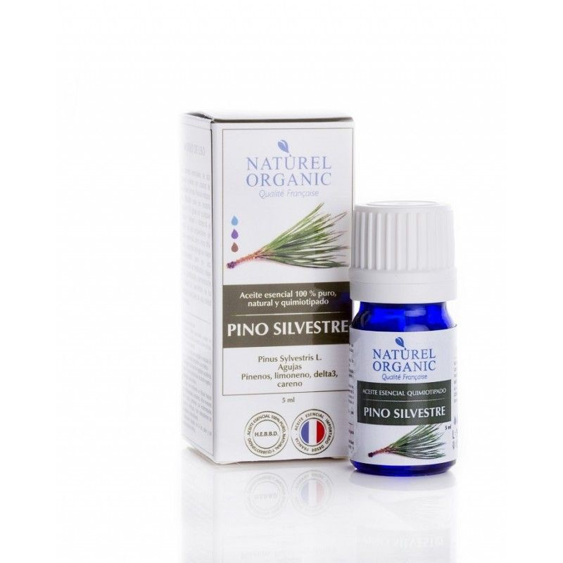 Aceite de aromaterapia pino botella de 5ml