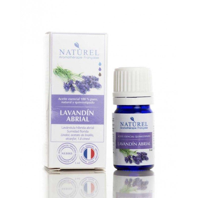 Aceite de aromaterapia lavandín abrial francés botella de 5ml