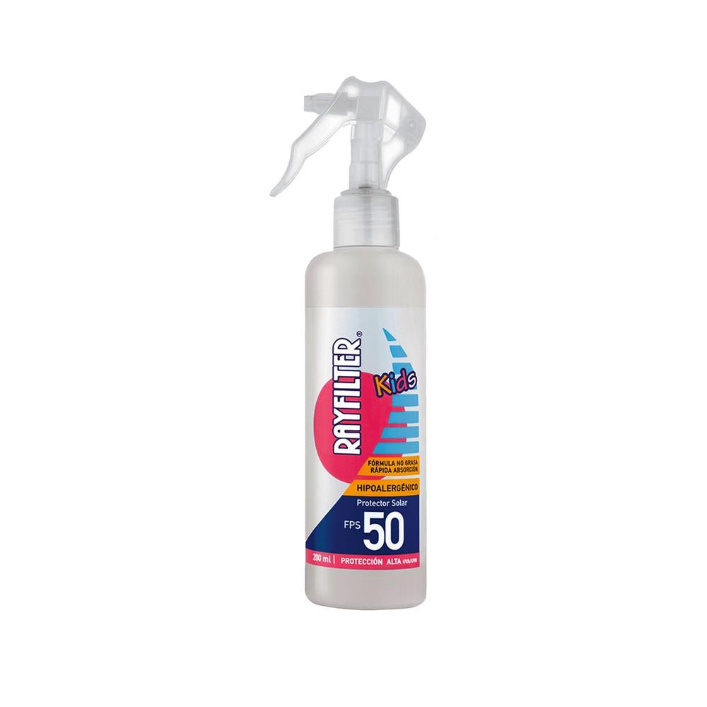 Protector solar spray kids FPS 50