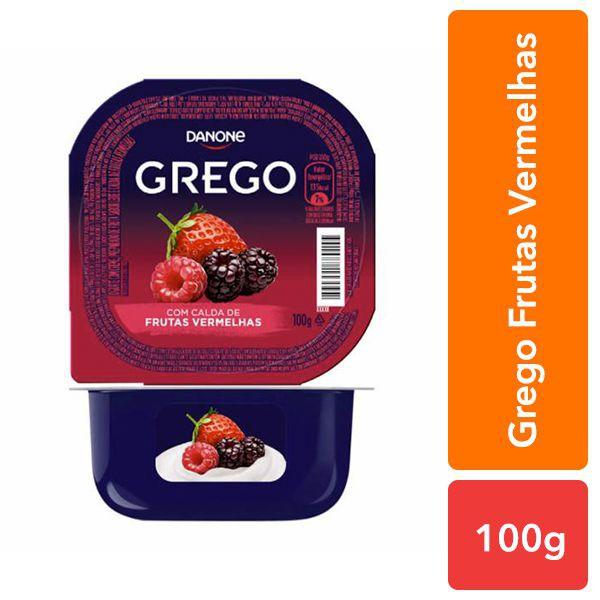 Iogurte grego frutas vermelhas