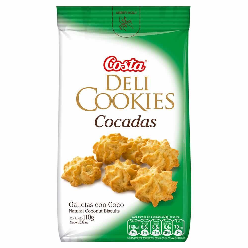 Galletas Coco Deli Cookies Bolsa 110 g