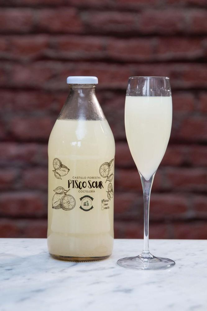Pisco sour tradicional 1 botella -1 Litro