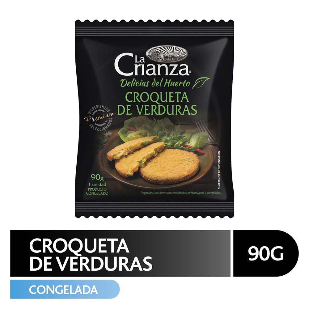 Croqueta de verduras Bolsa 90 g
