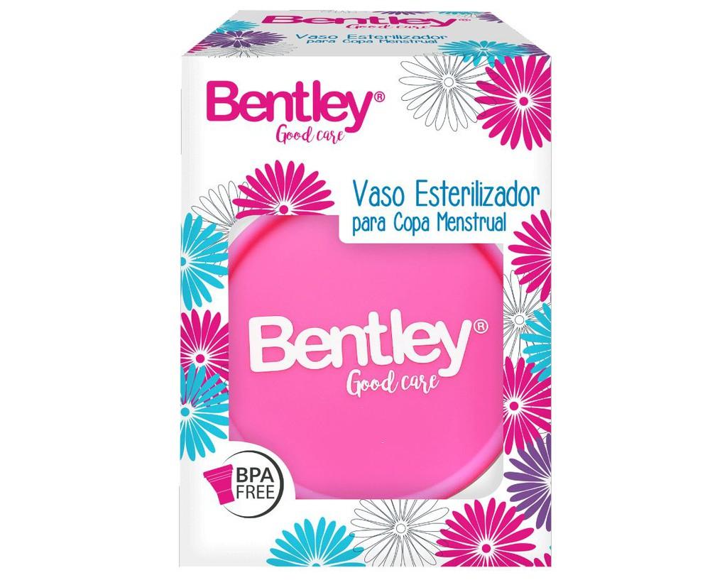 Vaso esterilizador para copa menstrual