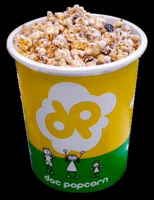Popcorn cookies and cream