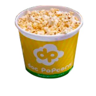 Balde Popcorn cheesy cheddar