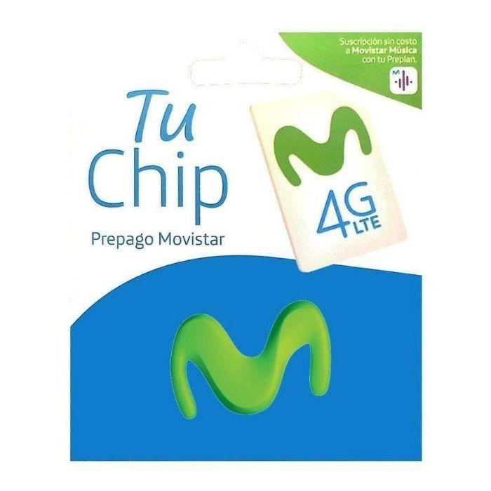 Chip prepago 1 Unidad