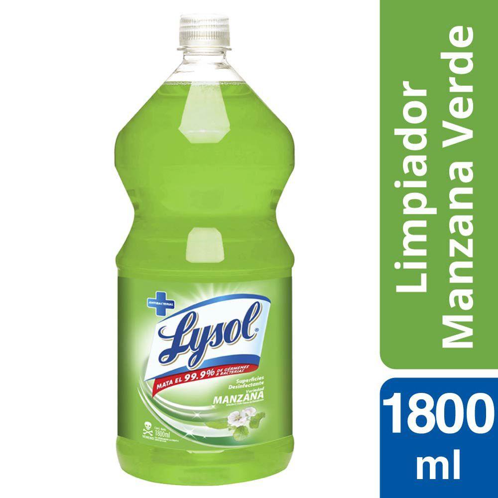 Limpiador Líquido Manzana Botella 1,8 L
