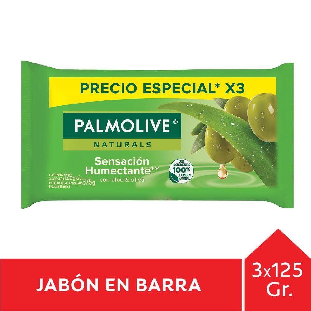 Jabón barra sensación humectante oliva y aloe 3