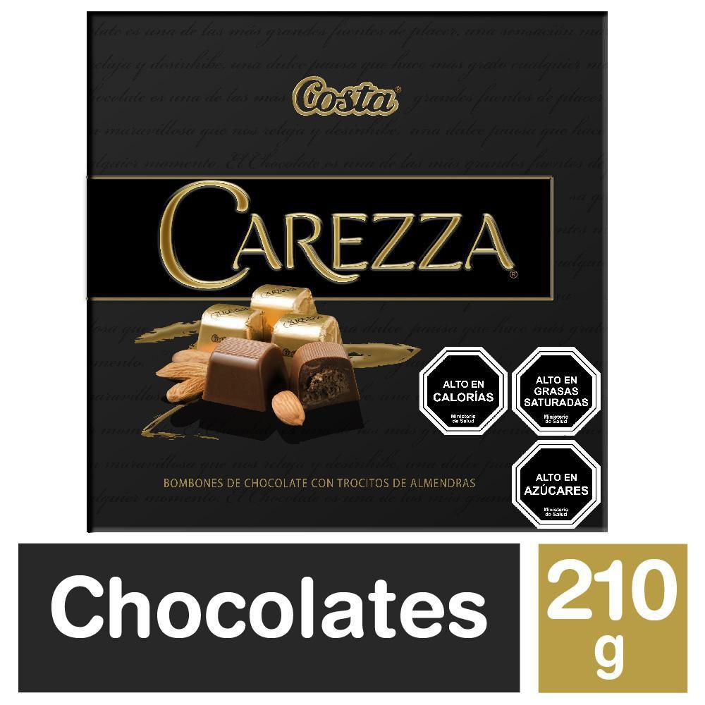 Bombones Carezza chocolate con almendras
