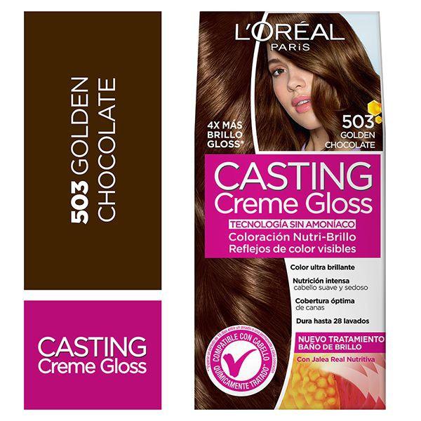 Tintura capilar Creme Gloss chocolate 503