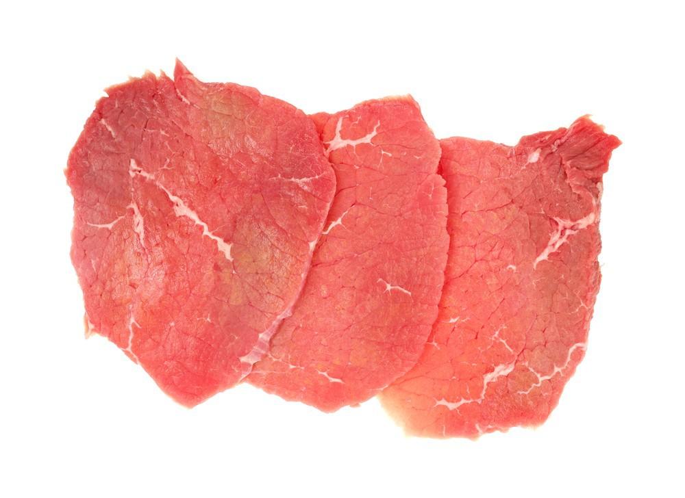 Beef Top Round Steak Thin Cut Fp