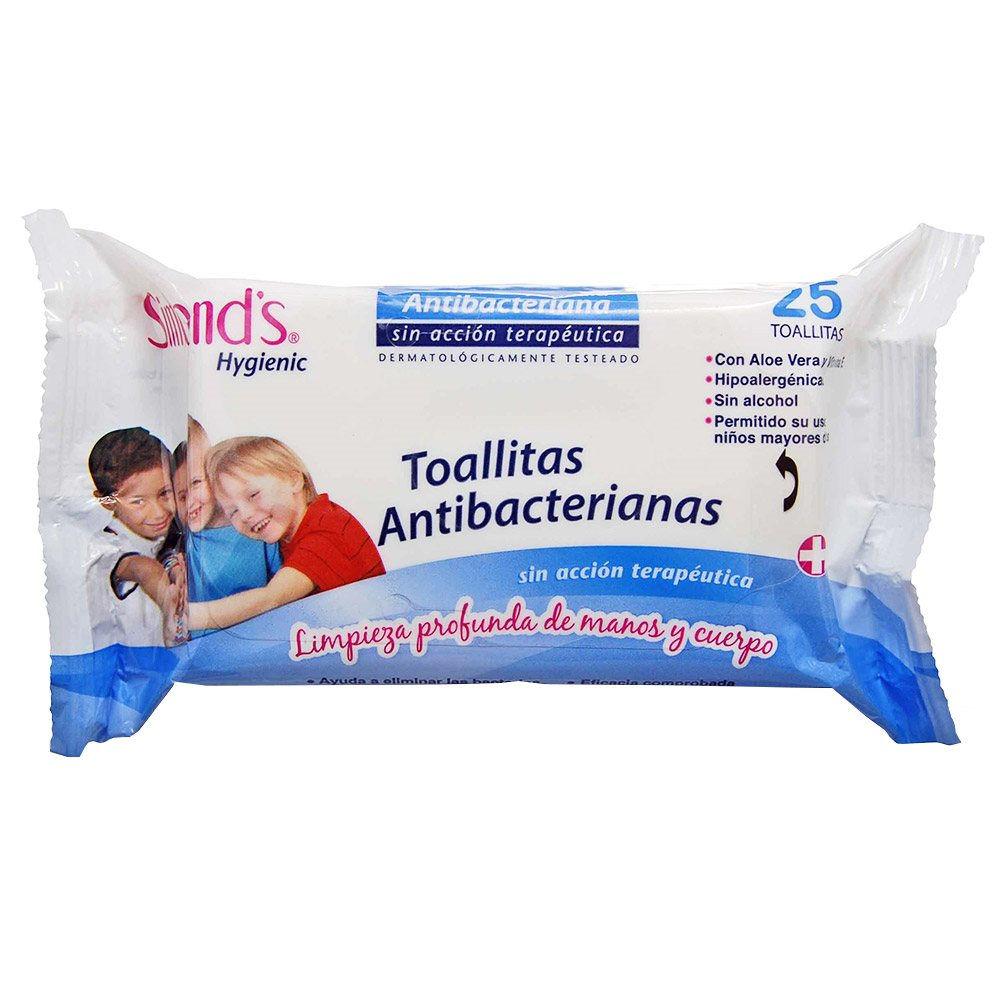 Toallitas húmedas antibacterianas