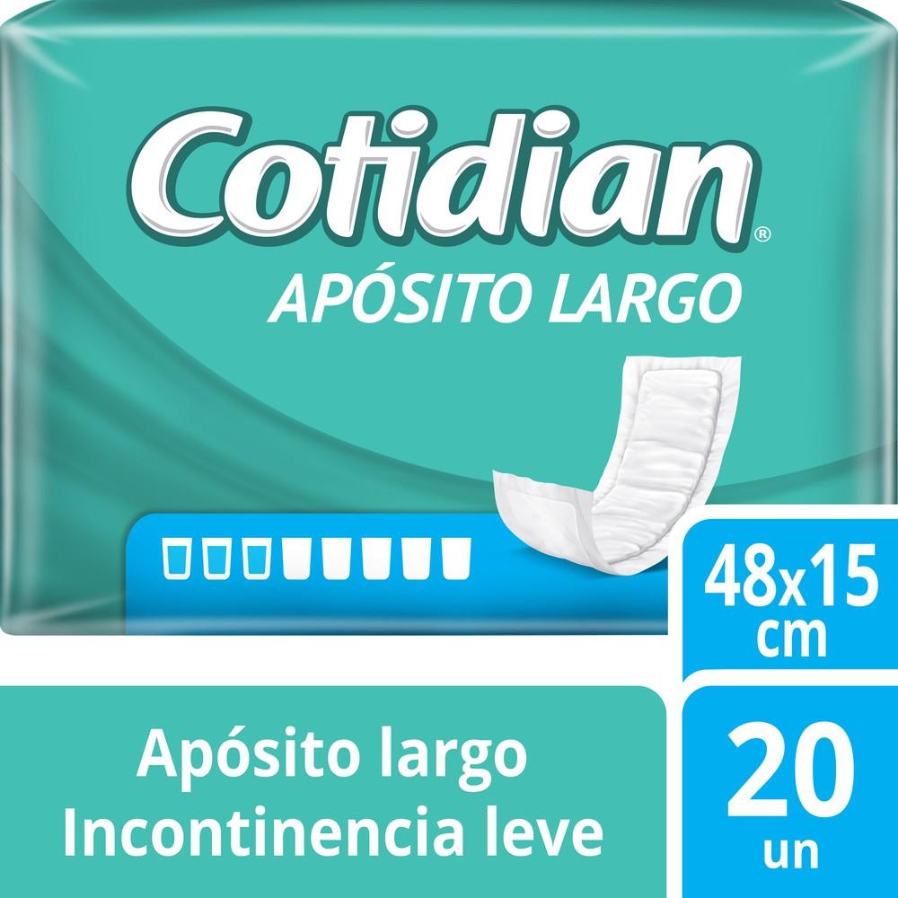 Apósito largo incontinencia leve