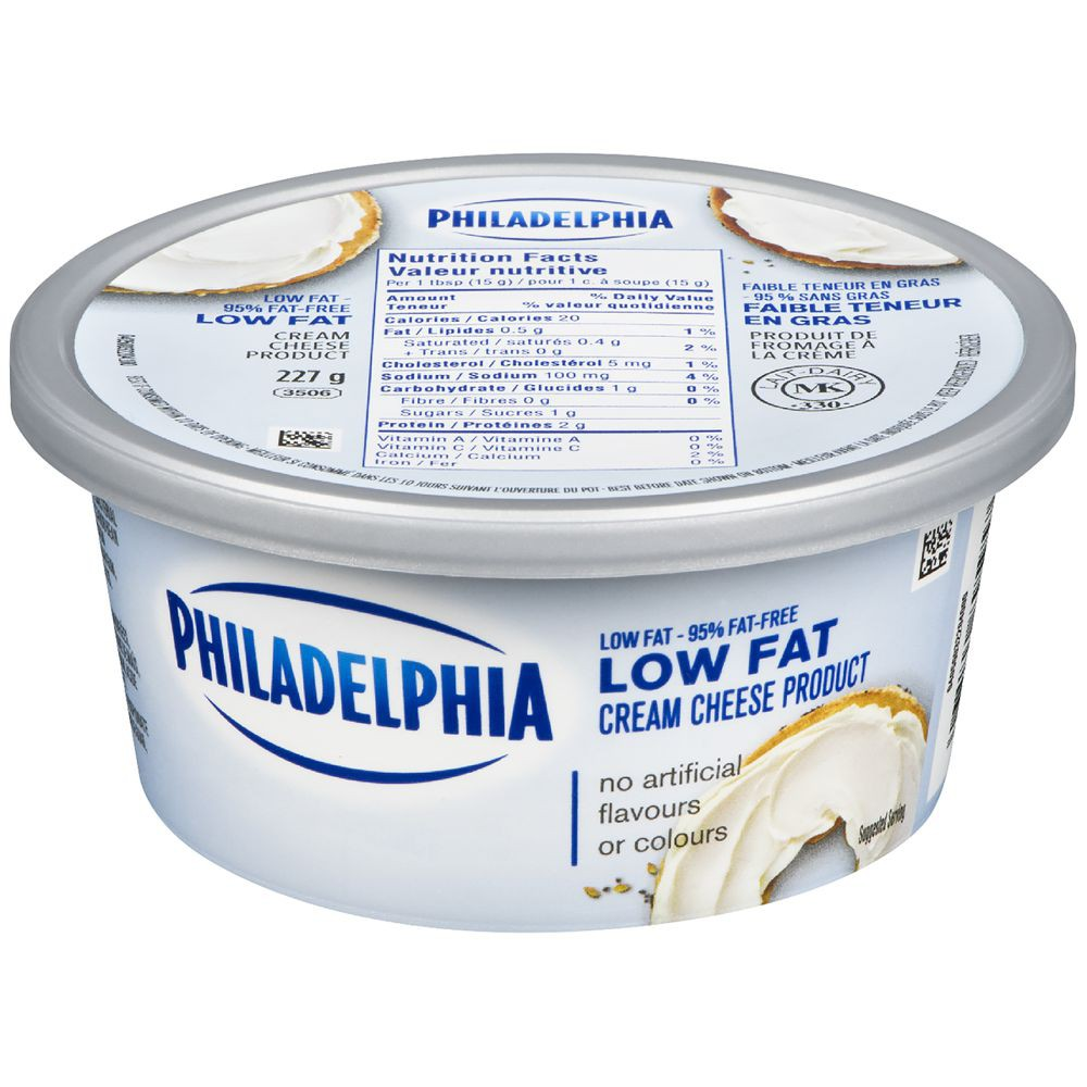 Low fat cream cheese