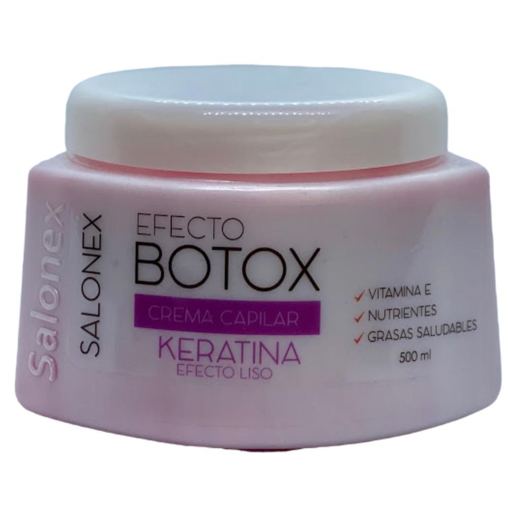 Efecto Botox Crema Capilar Keratina Efecto Liso