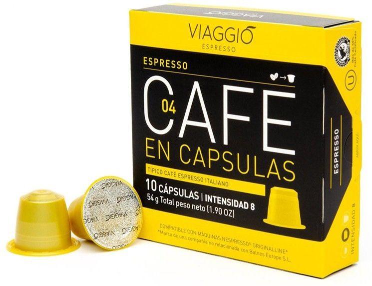 Cafe en capsulas Espresso Caja de 10 capsulas