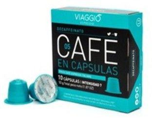 Cafe en capsulas variedad Decaffeinato Caja de 10 capsulas