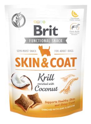 Funcional snack skin & coat