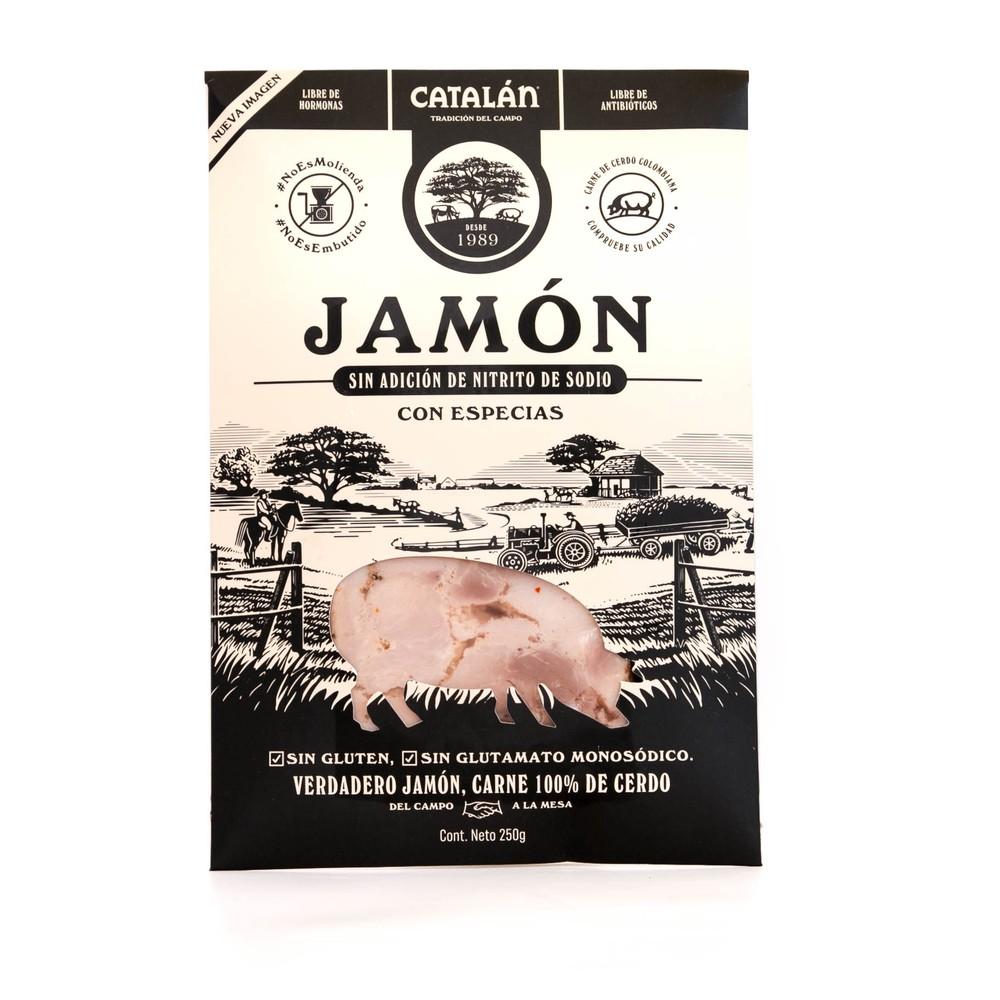 Jamón con especias 250 GR