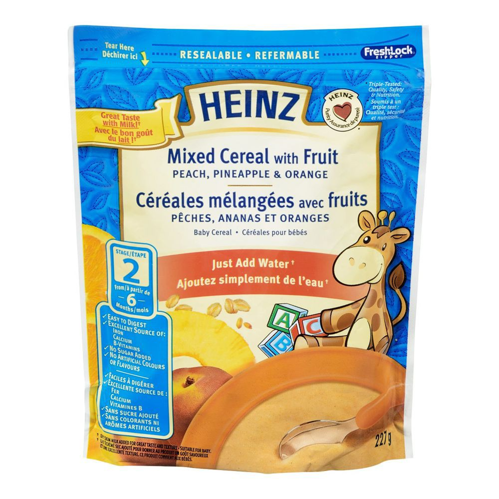 Mixed Cereal with Fruit