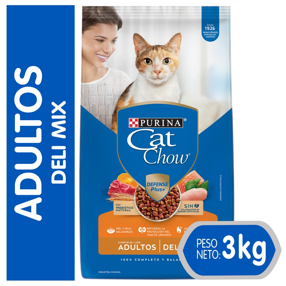 Alimento seco gato Delimix