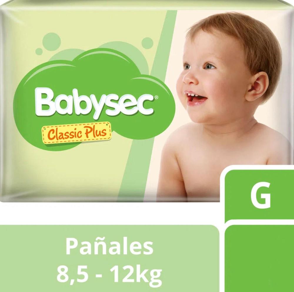 Pañal classic plus G