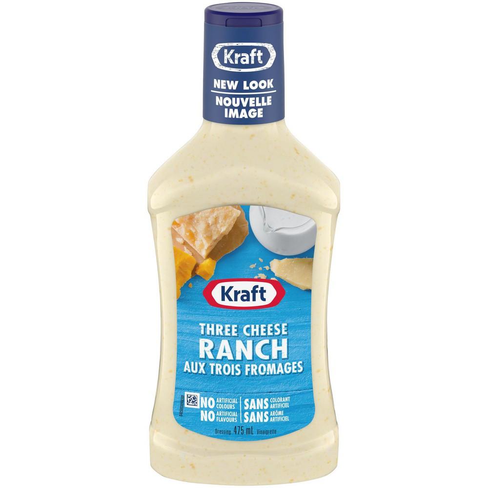 Three cheese ranch dressing